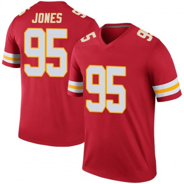 Youth Chris Jones Kansas City Chiefs Nike Legend Color Rush Jersey - Red