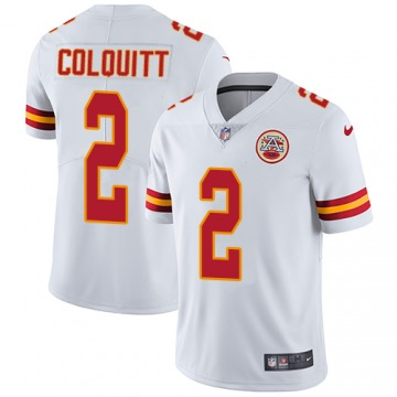 Youth Dustin Colquitt Kansas City Chiefs Nike Limited Jersey - White